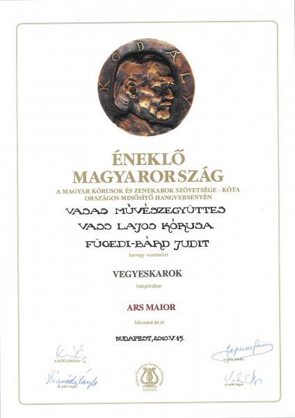 Ars major 2010